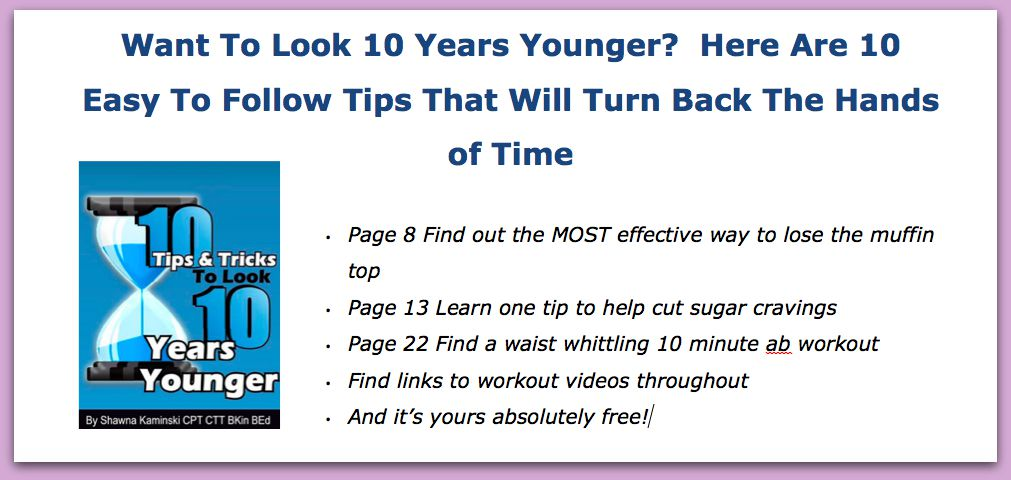 10 Years Younger ad