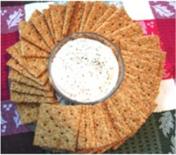 Smoked Salmon Mousse with Crackers Smoked Salmon Mousse with Crackers