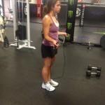 stepdaughter gym