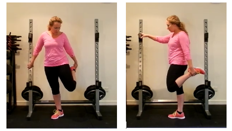 incorrect quad pic for blog Foam rolling for Hip and knee pain