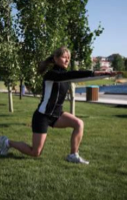 switch lunge A How to Improve Your Balance