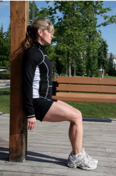 wall sit 1 Q & A   Cardio alternatives with knee injuries
